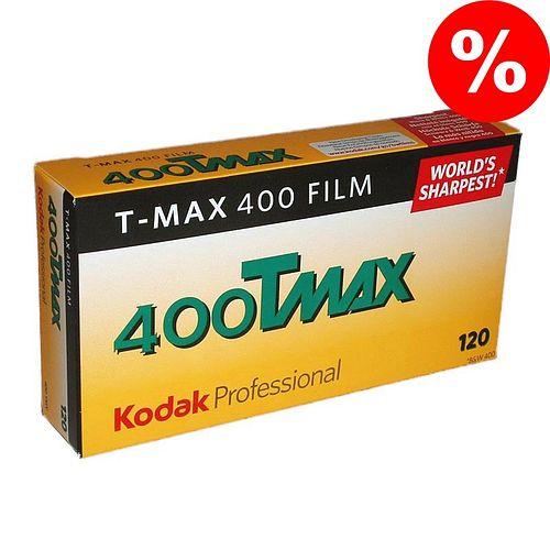 KODAK T-Max 400 (TMY) Schwarzweißfilm, 120, 5 Stück