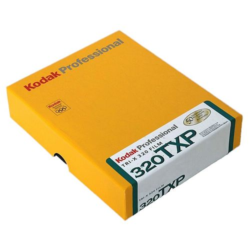 KODAK Tri-X 320 (TXP) Schwarzweißfilm, 4x5inch / 10,2x12,7cm, 50 Blatt