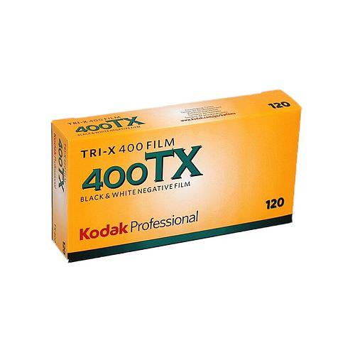 KODAK Tri-X 400 (TX) Schwarzweißfilm, 120, 5 Stück