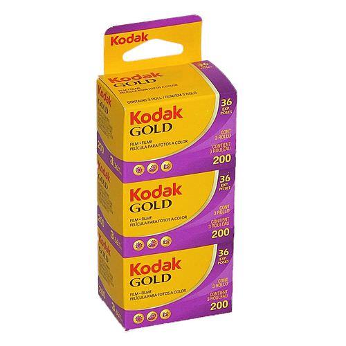 KODAK Gold 200 135-36 3er Pack