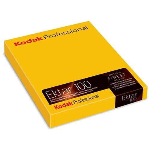 KODAK Ektar 100 Negativ-Farbfilm, Professional 4x5inch 10 Blatt
