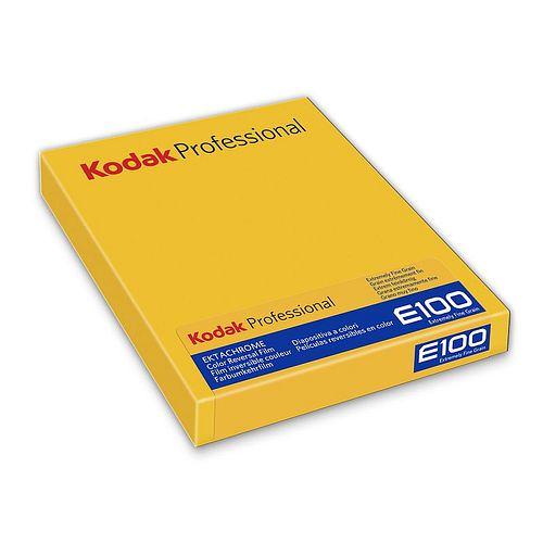 KODAK Ektachrome E 100 (Umkehrfilm) 4x5inch / 10,2x12,7cm, 10 Blatt