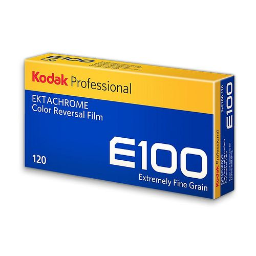 KODAK Ektachrome E 100 (Umkehrfilm), 120 Rollfilm 5 Stück