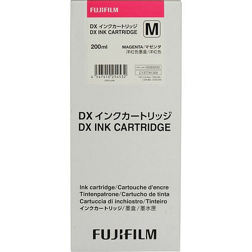 FUJI Ink Cartridge Magenta 200 ml für DX100 **08/2020 MHD