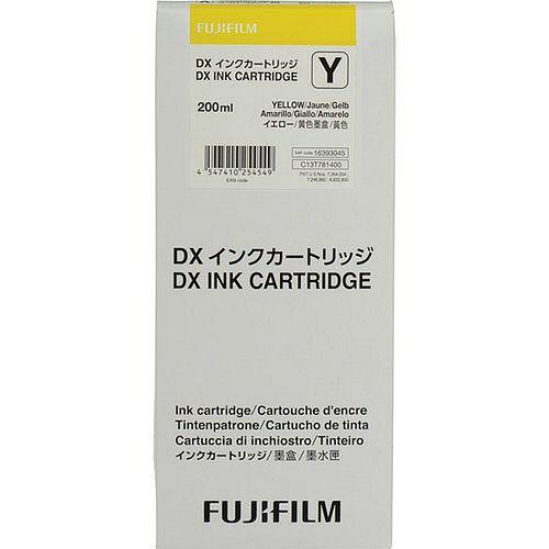 FUJI Ink Cartridge Yellow 200 ml für DX100 **01/2021 MHD