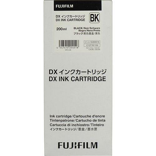 FUJI Ink Cartridge Black 200 ml für DX100 **10/2020 MHD