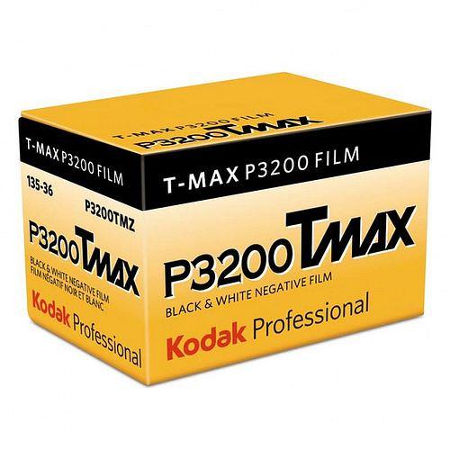 KODAK T-Max P 3200 (TMZ) Schwarzweißfilm, 135-36 ** 10/2020 MHD
