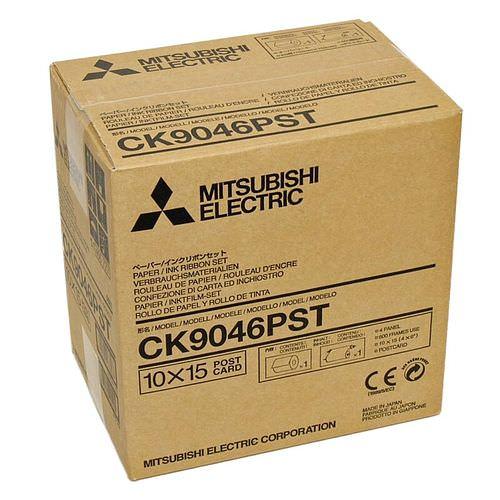 MITSUBISHI CK 9046PST mit POSTKARTENDRUCK 10x15cm (4x6inch) 600 Bilder