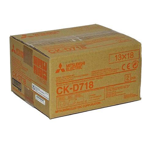 MITSUBISHI CK D 718 13x18 cm für 460 Bilder (2x230)
