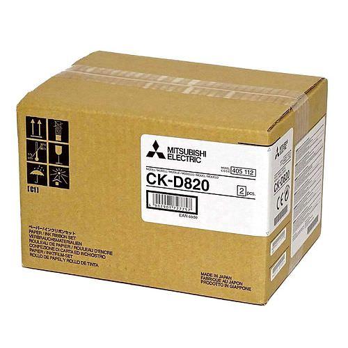 MITSUBISHI CK D 820 10x15 860 Bilder oder 15x20cm 430 Bilder