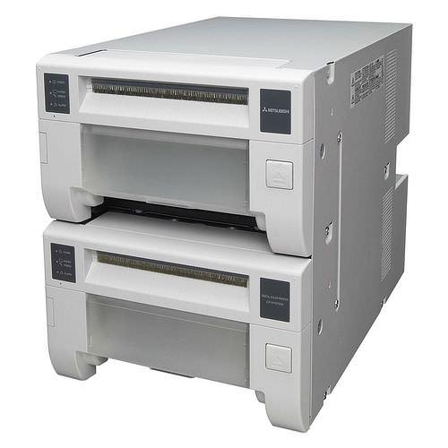 MITSUBISHI CP D707 DW-Doppel-Fotodrucker / Thermodrucker
