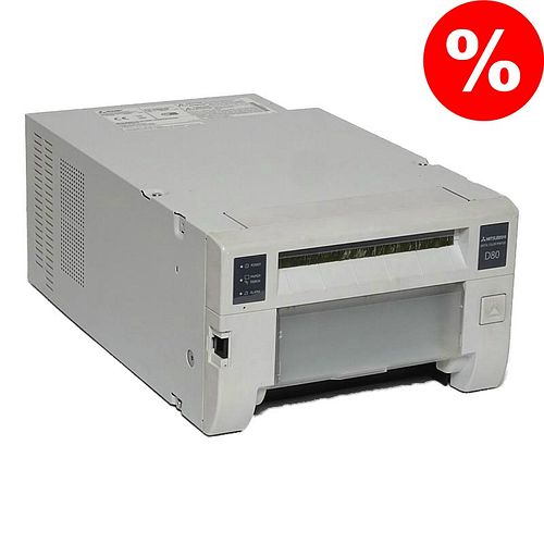 MITSUBISHI CP D80 DW Fotodrucker / Thermodrucker **Gebraucht-Gerät