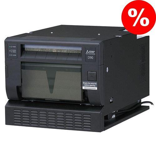 MITSUBISHI CP D90 DW-P Fotodrucker / Thermodrucker **aus Demobestand