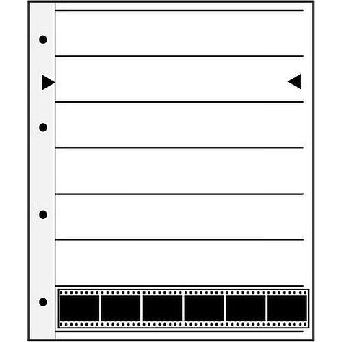 Negativhüllen 7 Streifen a6 KB-Negative Pergamin 100 Blatt