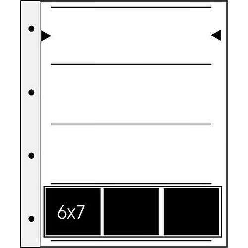 Negativhüllen 4 Streifen a3 6x7 Negative Pergamin 100 Blatt