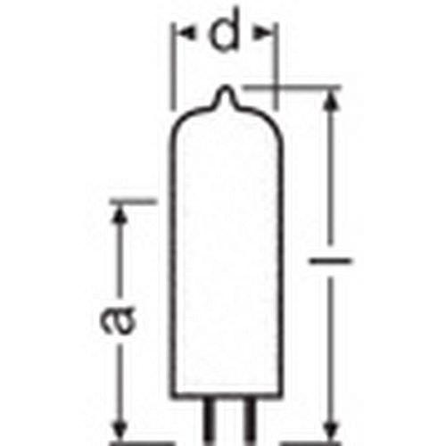 OSRAM 64663 EVD 36V 400 Watt G6.35 Stiftsockel