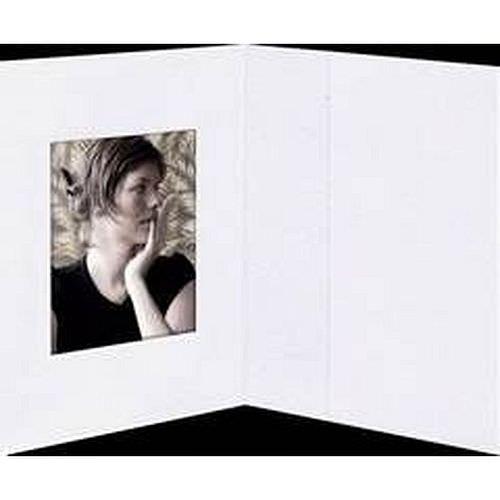 Passmappen / Bewerbungsmappen 1er weiß 35x50mm 100 Stück