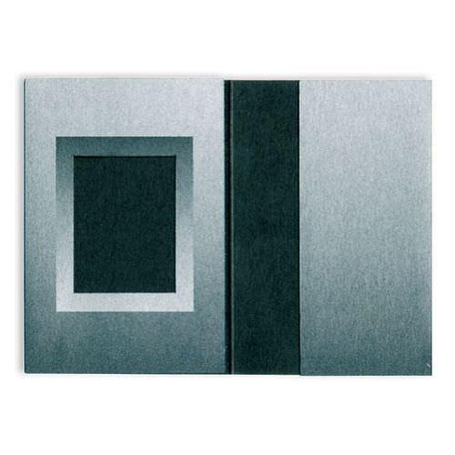 Passmappen 1er schwarz/silber 31x42mm 100 Stück