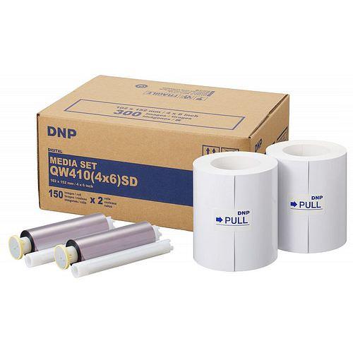 DNP Mediaset Standard (SD) für QW410 Drucker 10x15cm (4x6inch) für 300 Bilder