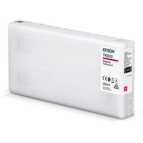 EPSON T43U3 Tintenpatrone magenta 200ml für Surelab SL-D800