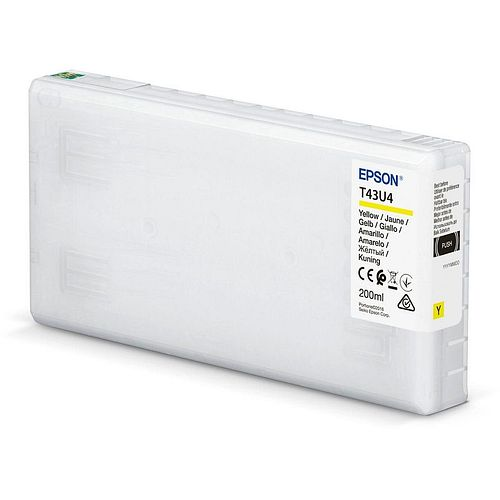 EPSON T43U4 Tintenpatrone yellow 200ml für Surelab SL-D800