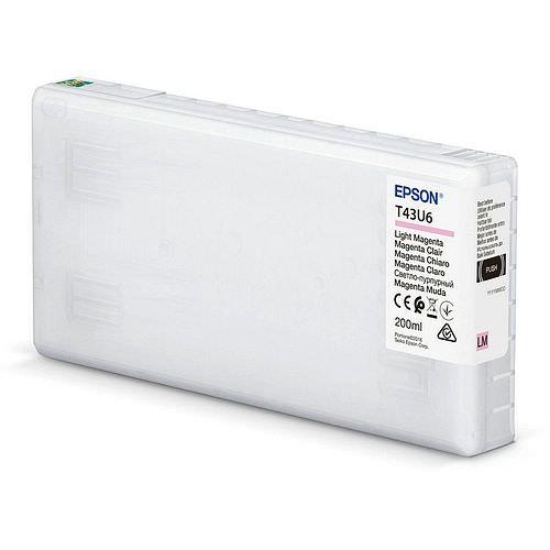 EPSON T43U6 Tintenpatrone light magenta 200ml für Surelab SL-D800