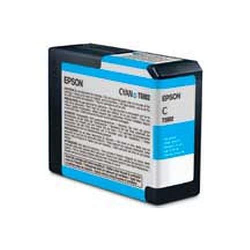 EPSON T5802 Tintenpatrone cyan 80ml für Stylus Pro 3800 und Pro 3880