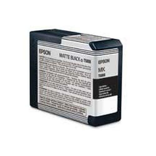EPSON T5808 Tintenpatrone matt schwarz 80ml für Stylus Pro 3800 und Pro 3880