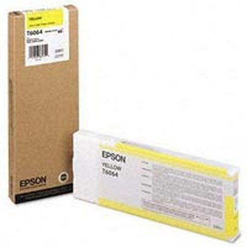 EPSON T6064 Tintenpatrone yellow 220ml für Stylus Pro 4800/4880