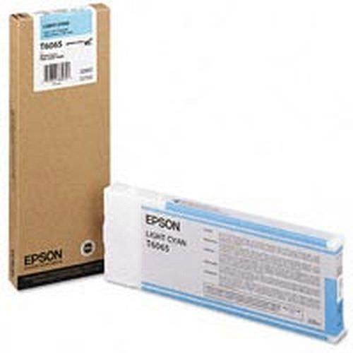 EPSON T6065 Tintenpatrone light cyan 220ml für Stylus Pro 4800/4880