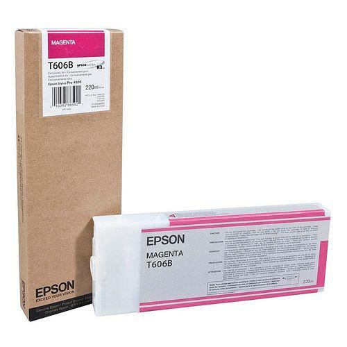EPSON T606B Tintenpatrone magenta 220ml für Stylus Pro 4800