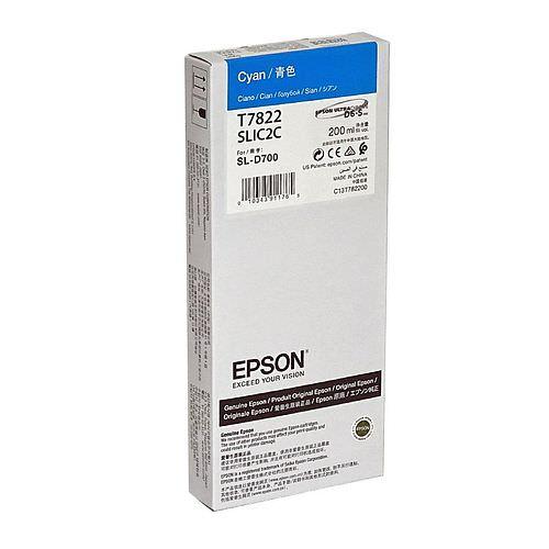 EPSON Ink Cartridge Cyan 200 ml für Surelab SL-D700