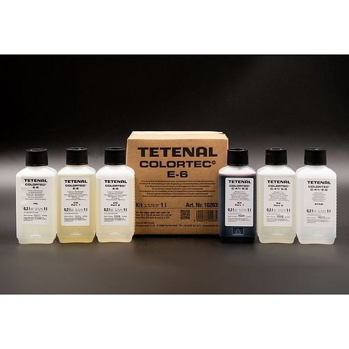 TETENAL Colortec E-6 3-Bad Kit für 1 Liter