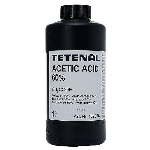 TETENAL Essigsäure 60% techn. 1 Liter