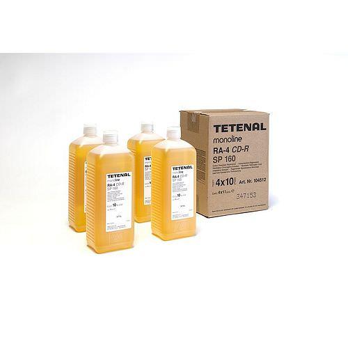 TETENAL monoline RA-4 Farbentwickler-Reg. CD-R SP 160 für 4x10 Liter