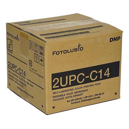 SONY UPC-C14 Papier 10x15 für Snap Lab UP-CR 10L, 400 Blatt (2x200)