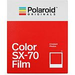 POLAROID SX-70 COLOR Film, 8 Aufn. für Polaroid SX 70 Kamera