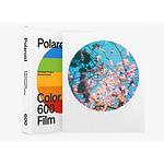 POLAROID 600 COLOR Film, ROUND Frame 8 Aufn. für Polaroid 600 + Impulse Kameras