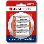 AGFAPHOTO Mignon 1500/LR6/AA Alkaline 1,5 Volt 4 Stück