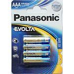 PANASONIC Evolta Micro 2400/LR03/AAA Alkaline 1,5 Volt 4 Stück