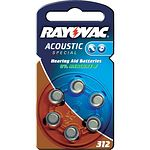RAYOVAC 4607 Acoustic 312 H�rger�tebatterie 6 St�ck