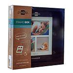 PIXOLO Frame Box Black & White 20x20 8 Stück