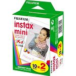 FUJI Instax Mini Color-Film Doppelpack 2x 10 Aufnahmen