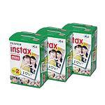 FUJI Instax Mini Color-Film 3 Doppelpack a 20 Aufnahmen