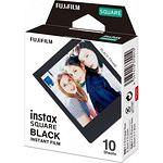 FUJI Instax SQUARE Black Frame Film, 1x 10 Aufnahmen