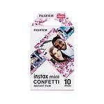 FUJI Instax Mini CONFETTI Film, 1x 10 Aufnahmen
