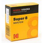 KODAK Vision3 500T 7219 Super 8, 8mm x 15m