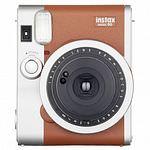 FUJI Instax Mini 90 Neo Classic, Kamera braun