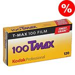 KODAK T-Max 100 (TMX) Schwarzweißfilm, 120, 5 Stück  10/2021 MHD