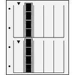 Negativhüllen 10 Streifen a4 KB-Negative Pergamin 100 Blatt